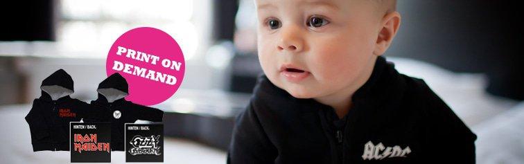 Baby Hoodies- Print on demand