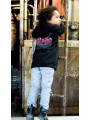 AC/DC Kids Hoodie Zip Black Ice photoshoot
