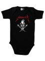 metallica baby onesie scary guy black print