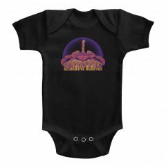 Scorpions baby Onesie Logo