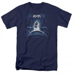 AC/DC Kids T-Shirt Ballbreaker Blue