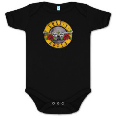 Guns and roses Onesie Baby Creeper Bullet