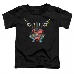 Bon Jovi Kids T-Shirt Heart Logo
