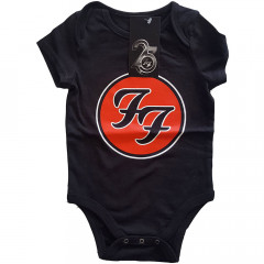 Foo Fighters Onesie Baby Rocker Logo Red