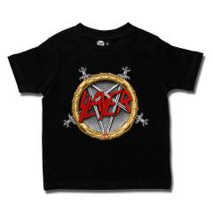 Slayer Kids/Toddler T-shirt - Pentagram Metal-Kids