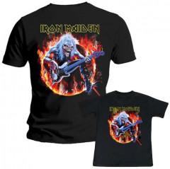 Duo Rockset Iron Maiden Father's T-shirt & Iron Maiden Kids T-Shirt