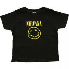 Nirvana Kids and toddler T-shirt - Tee Smiley