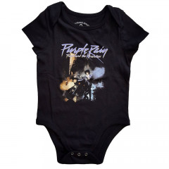 prince purple rain black baby onesie revolution
