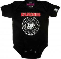 Ramones Onesie Baby Creeper  Body Romper Logo Ramones