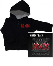 AC/DC Baby Hoody Black Ice Zip