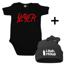 Infant Giftset Slayer Onesie infant/baby & Loud & Proud Hat