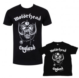 Duo Rockset Motörhead Father's T-shirt & Baby T-shirt