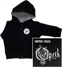 Opeth Kids Hoody Zip Logo (print on demand)