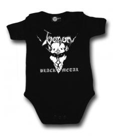 Venom Onesie Baby metal logo (Clothing)
