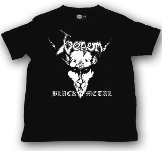 Venom Kids/Toddler T-shirt - Tee Black Metal