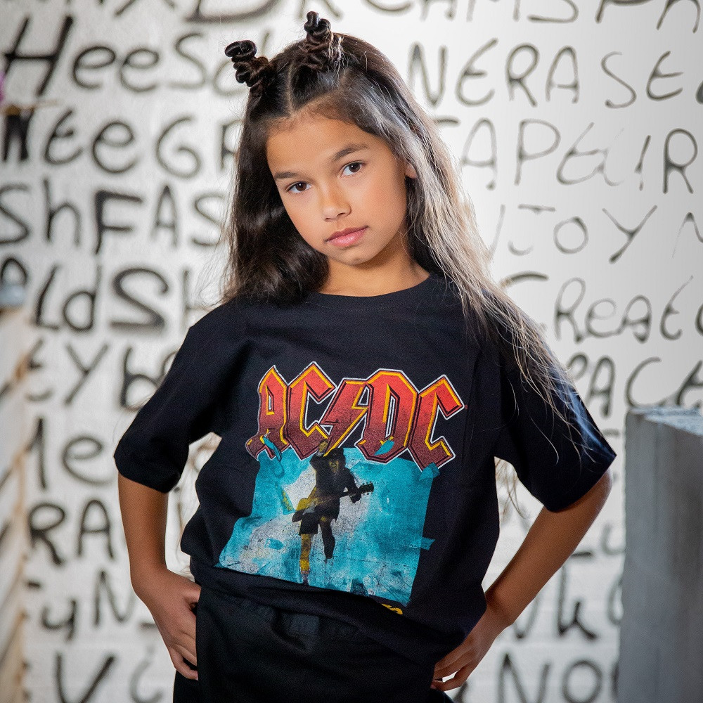 ACDC Kids/Toddler T-shirt - Tee Blow Up Your Video fotoshoot