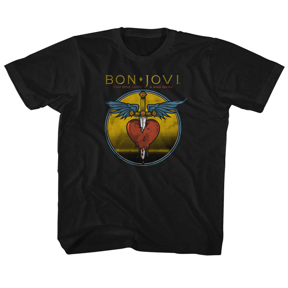 Bon Jovi kids T-Shirt You Give Love A Bad Name