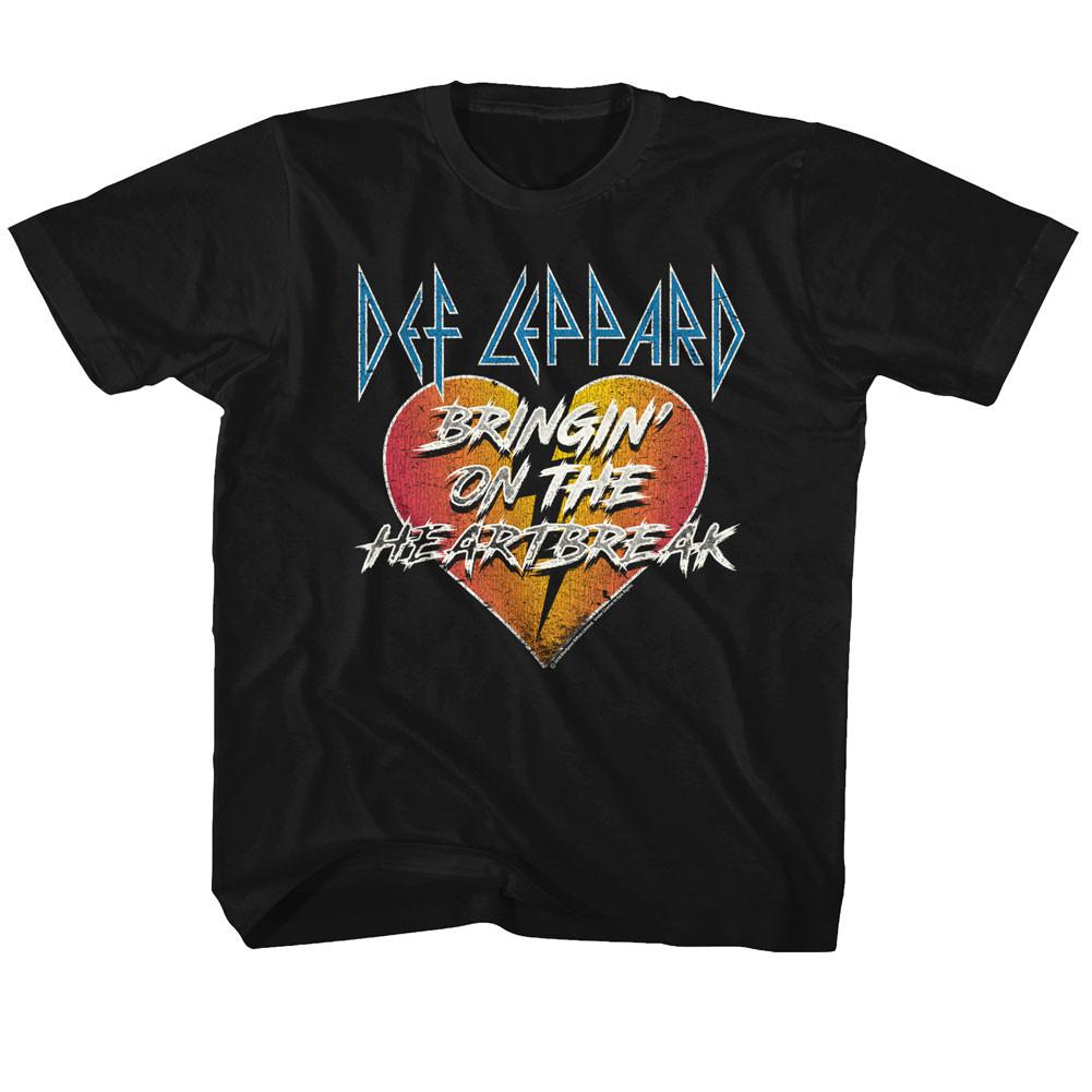 DEF Leppard T-Shirt Bringing On the Heartbreak