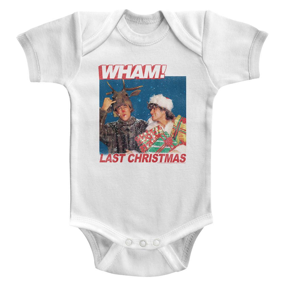 Wham! baby Onesie Last Christmas
