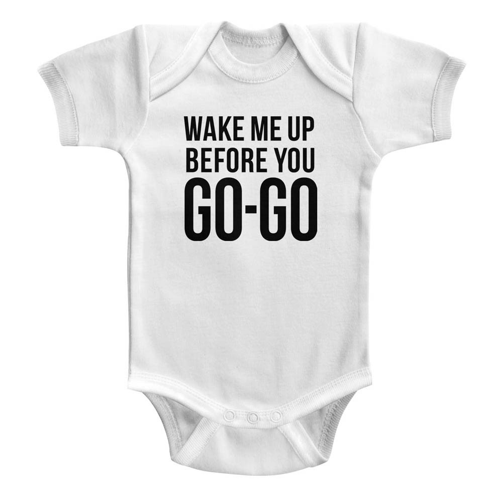 Wham! baby Onesie Wake Me Up Before You Go Go