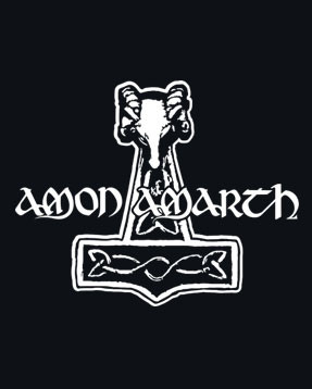 Amon Amarth thor's hammer close up