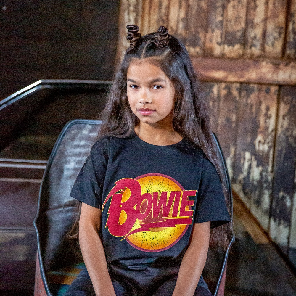 David Bowie Kids/Toddler T-shirt Diamond Logo fotoshoot