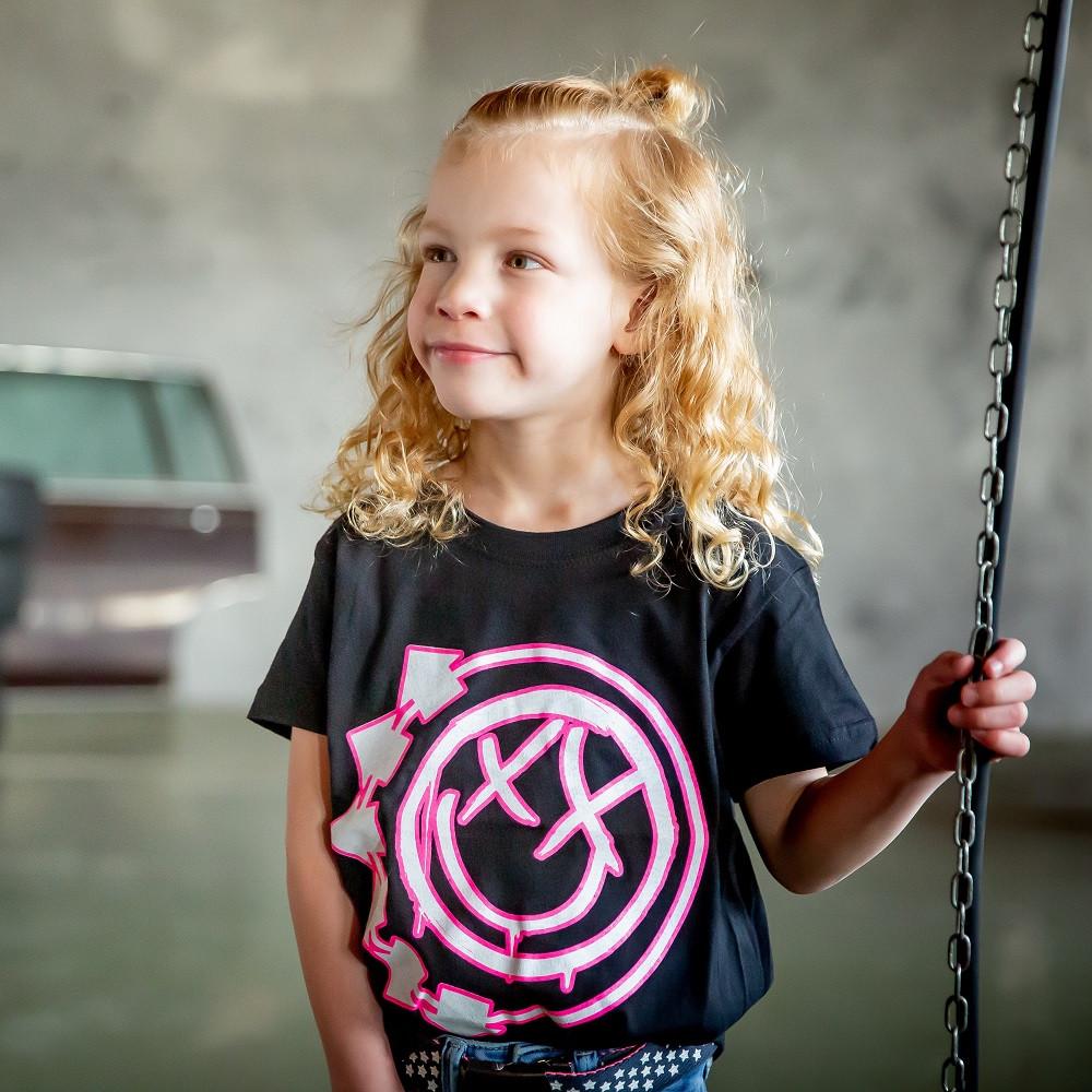 Blink 182 Kids/Toddler T-shirt - Tee Smiley fotoshoot