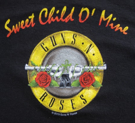 Guns and Roses baby Clothes