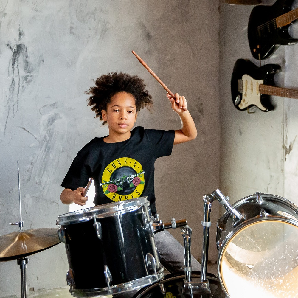 Guns n' Roses Kids/Toddler T-shirt - Tee Bullet fotoshoot