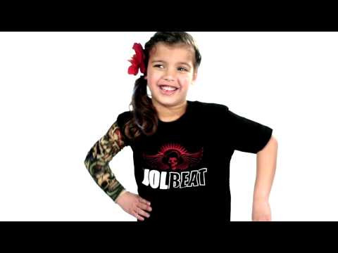 Volbeat Kids/Toddler T-shirt - Tee Skullwing