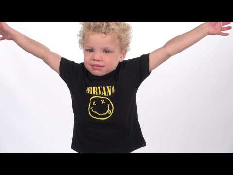 Nirvana Father's T-shirt & Kids/Toddler T-shirt Smiley