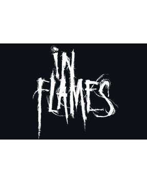 In Flames logo close up