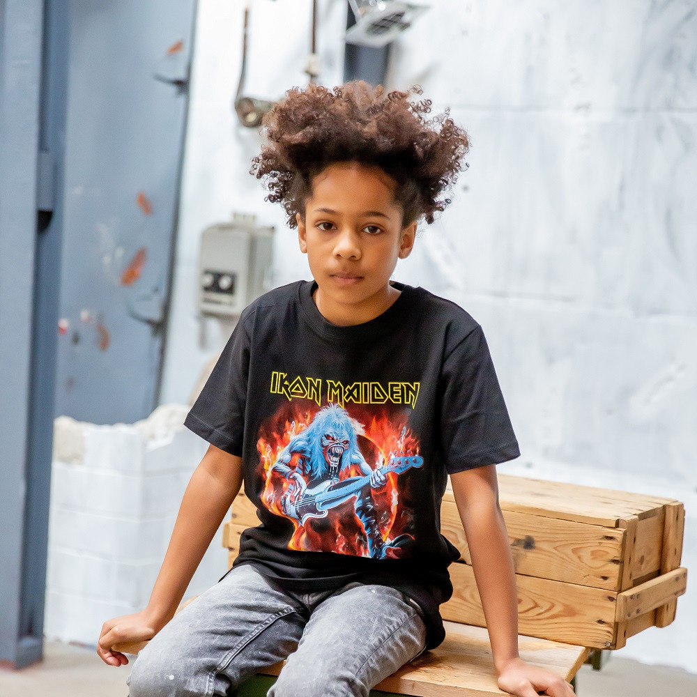 Iron Maiden Kids/Toddler T-shirt - Tee FLF fotoshoot