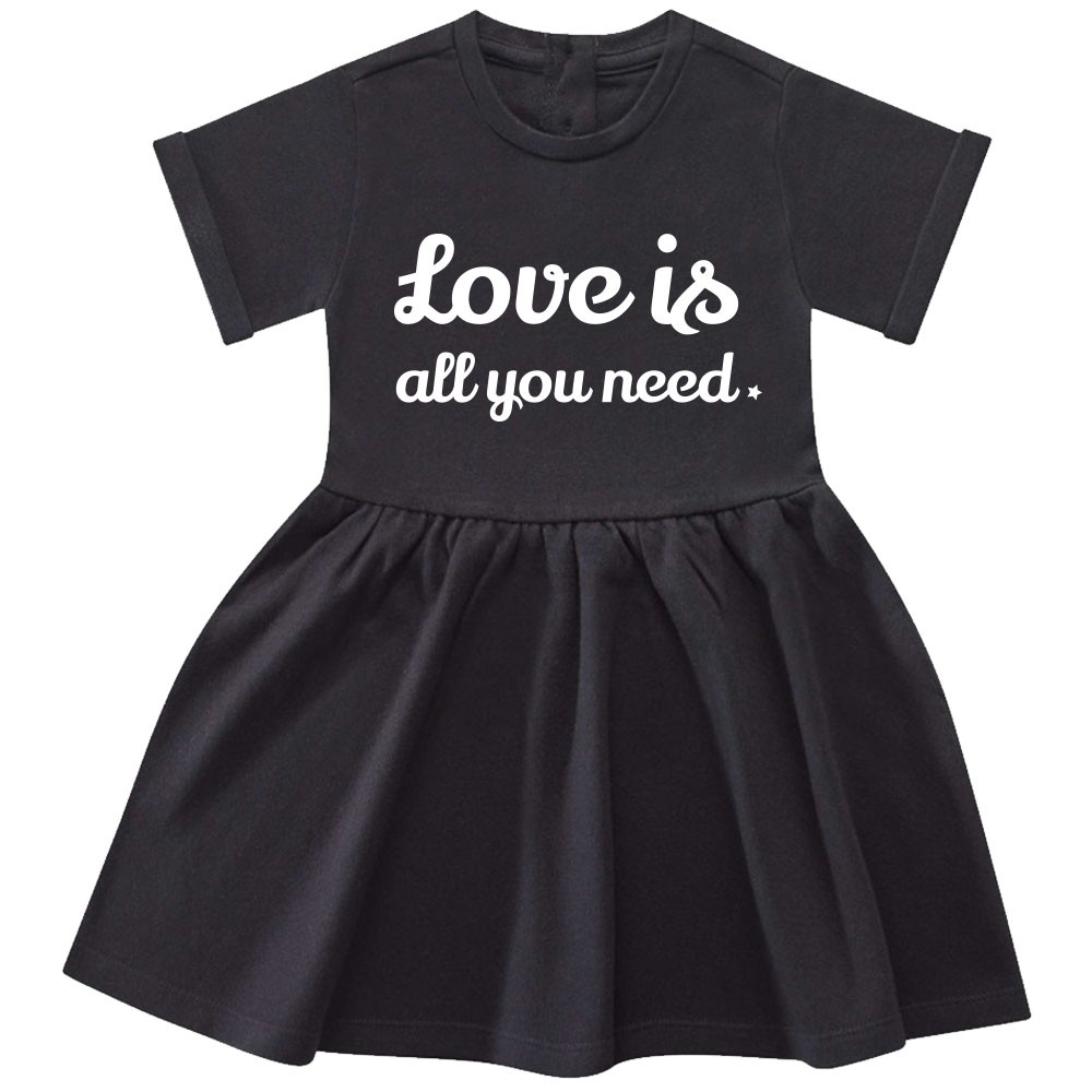 Love is all you need baby dress