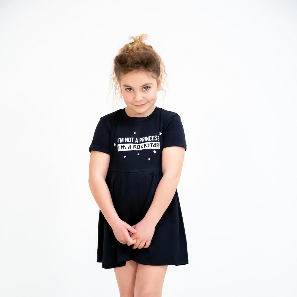 I'm not a princess I'm a rockstar Dress fotoshoot