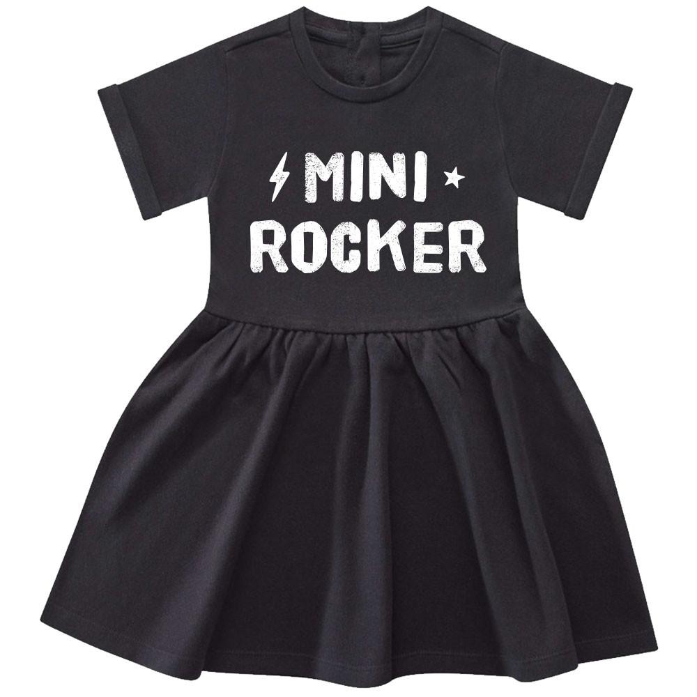 Mini-rocker Dress