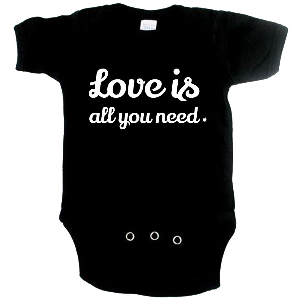 cute baby onesie love is all you need