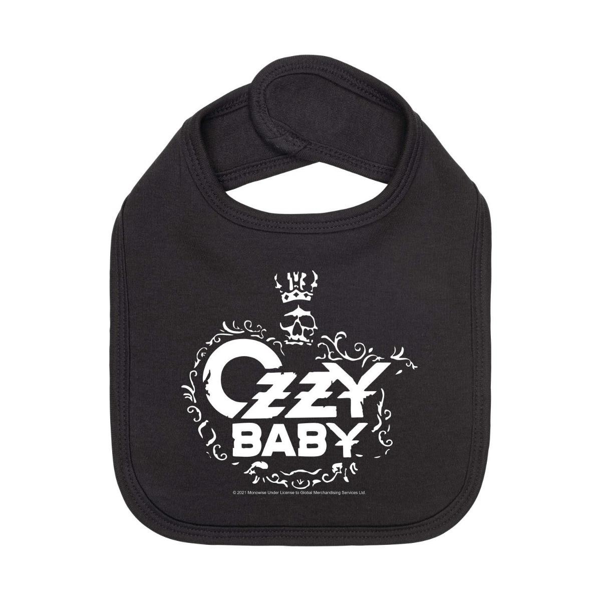 Ozzy Osbourne Baby Bib