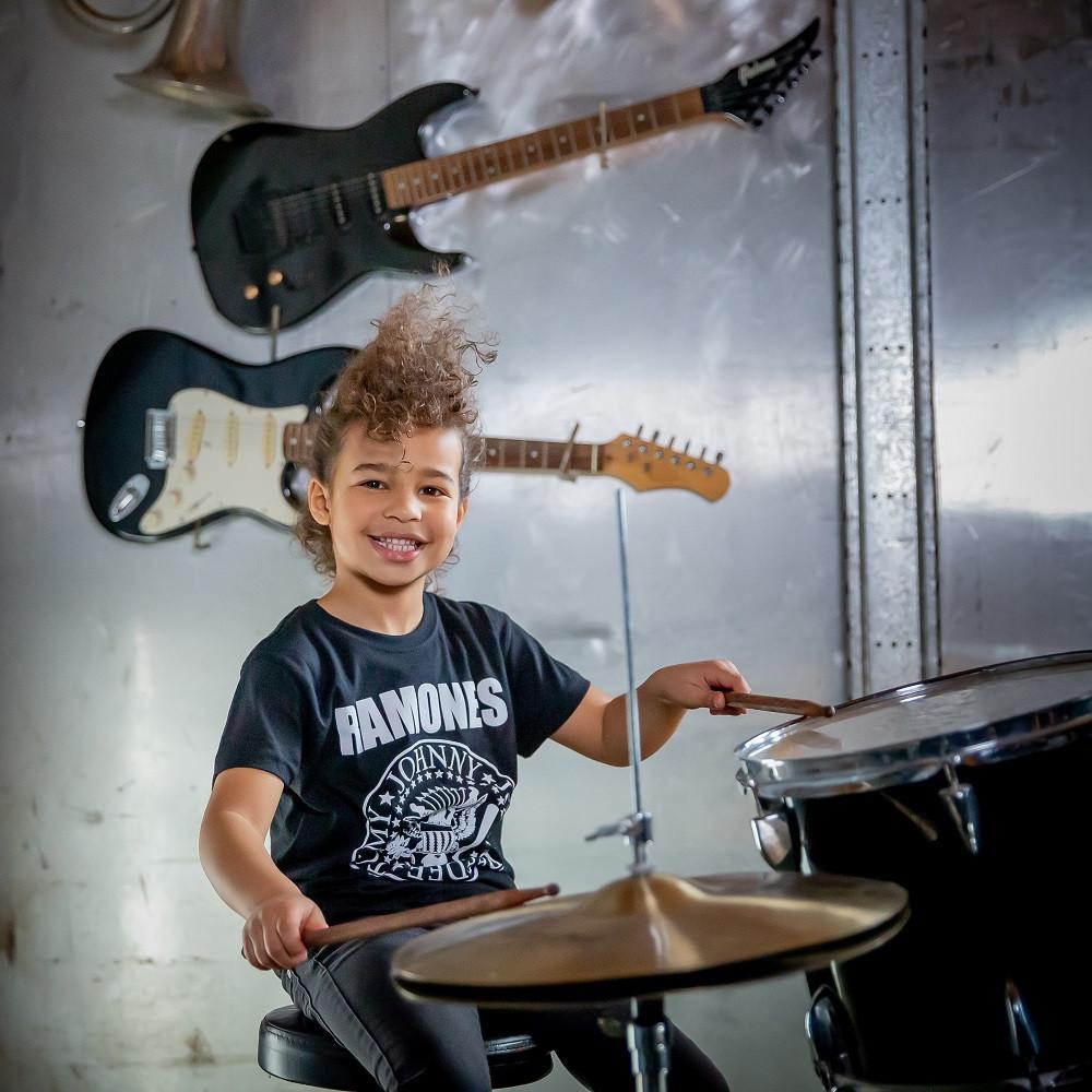 Ramones Kids/Toddler T-shirt - Tee Logo White fotoshoot