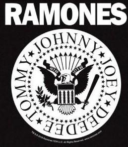 Ramones Kids/Toddler T-shirt - Full White
