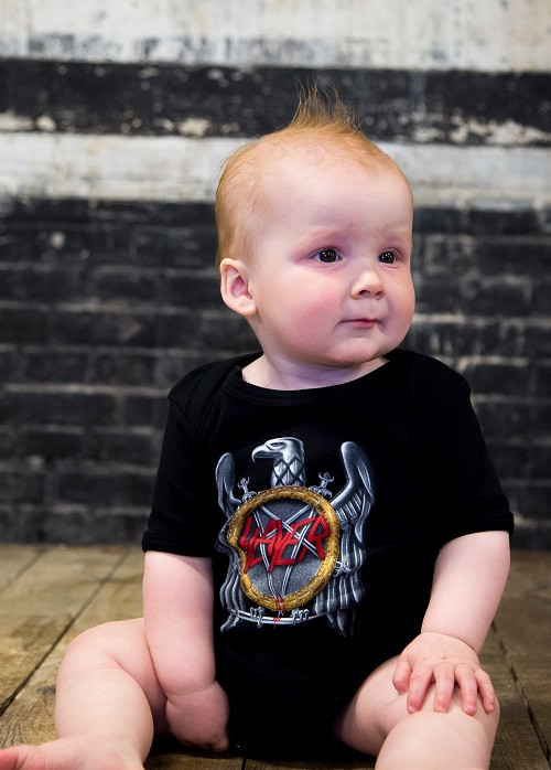 Slayer Baby Clothes cool baby