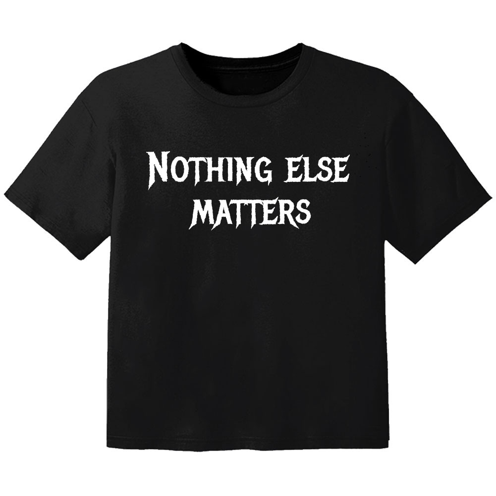 metal baby t-shirt nothing else matters