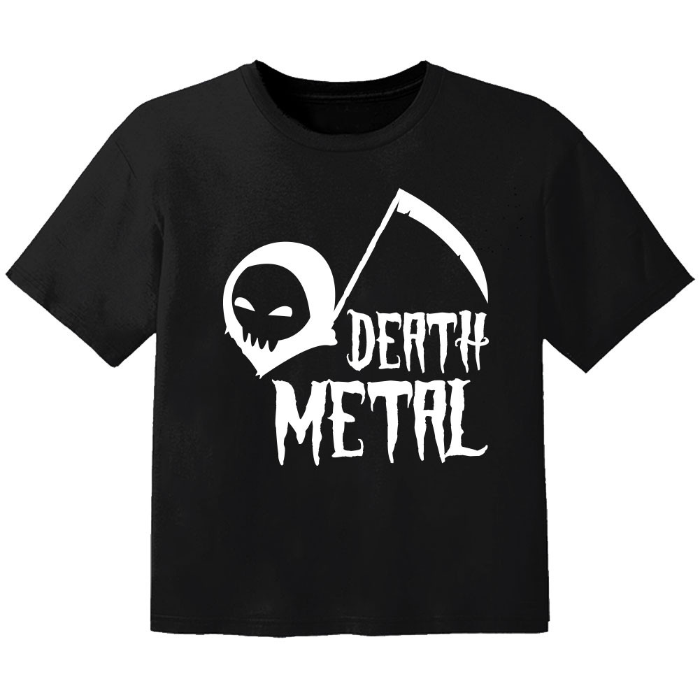 metal baby t-shirt death metal