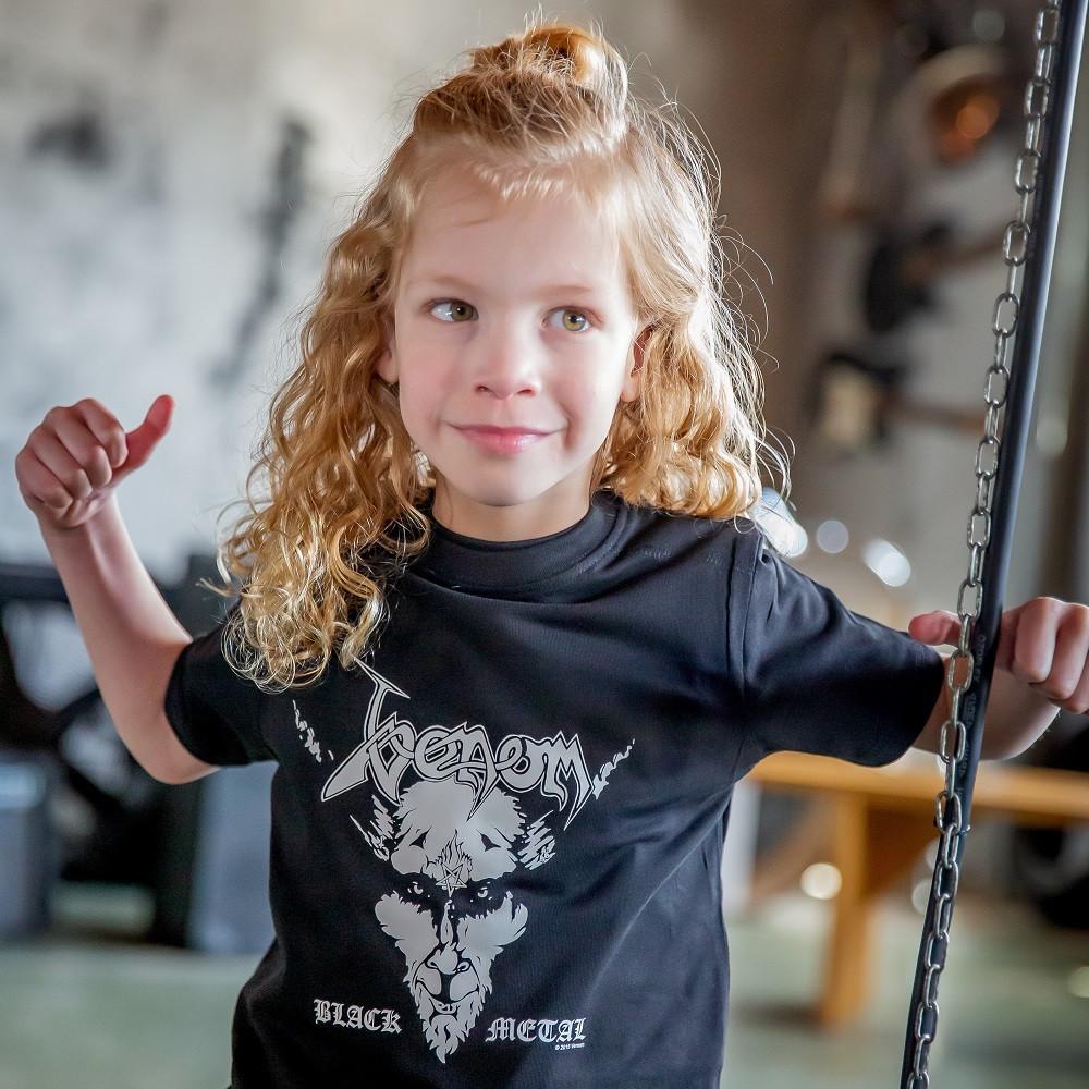 Venom Kids/Toddler T-shirt - Tee Black Metal fotoshoot