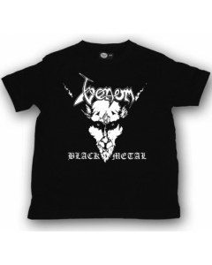 Venom Kids/Toddler T-shirt - Tee Black Metal