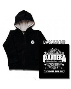 Pantera Baby Hoody Stronger than All (Print On Demand)