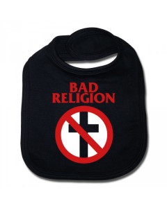Bad Religion baby bib Cross Cotton