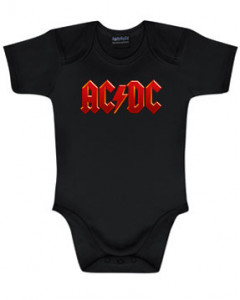 ACDC Onesie Colour – AC-DC onesies Metal Kids