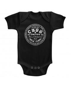 CBGB baby onesie Circle