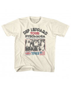 DEF Leppard kids T-Shirt Pyromania Tour